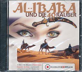 Ali Baba und die 40 Räuber. Gekürzt. 2 Audio-CDs (146 Min.). Nacherzählt und gelesen von Dirk Walbrecker. Empfohlen ab 8 Jahre.