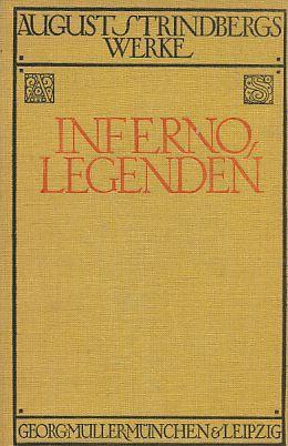 Inferno, Legenden. Verdeutscht von Emil Schering. 6.Aufl.: Strindberg, August: