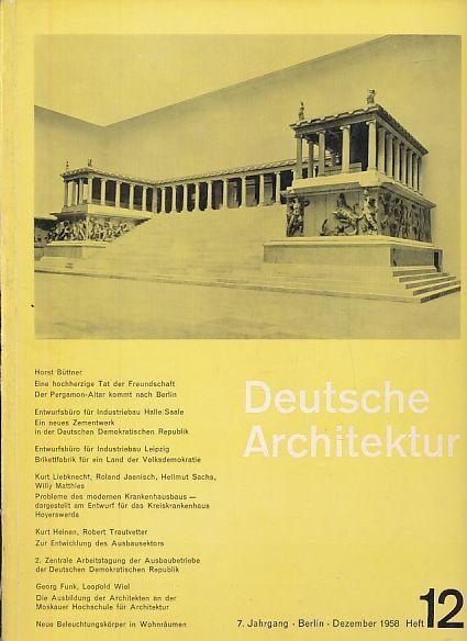 Deutsche bauakademie architektur zvab - Deutsche architektur ...