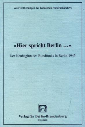 Hier spricht Berlin .