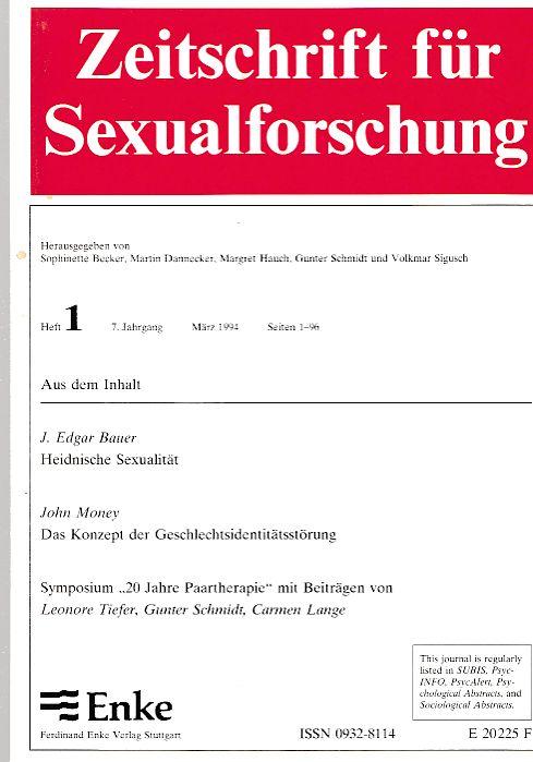 Sexualforschung schweiz