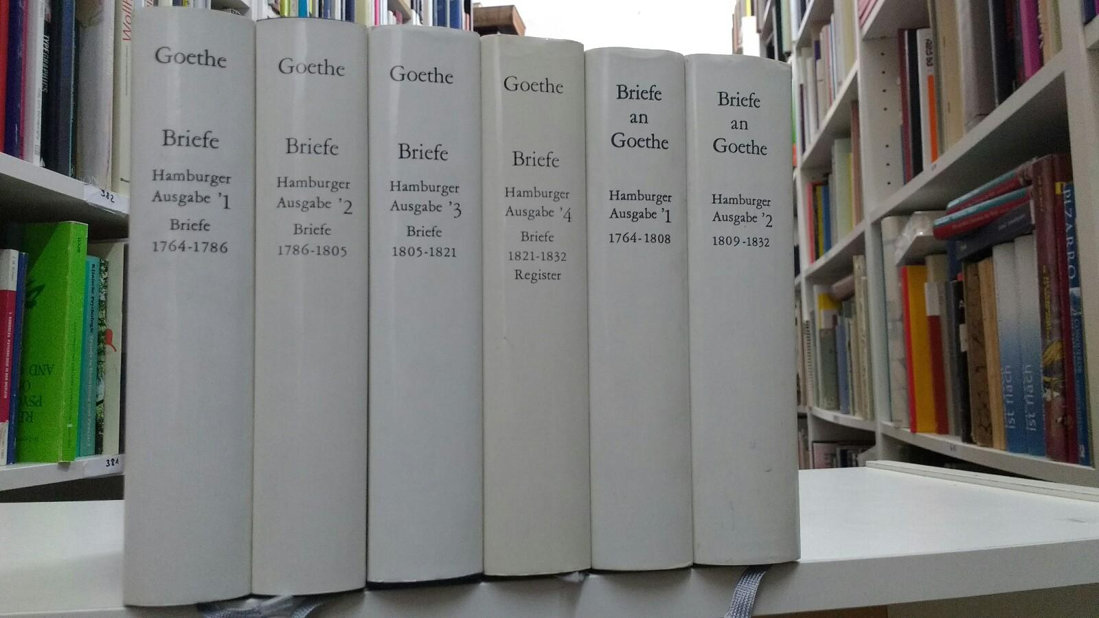 Briefe Von Goethes Mutter : Goethes briefe und von goethe zvab
