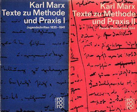 2 BÄNDE) Texte zu Methode und Praxis.: Marx, Karl: