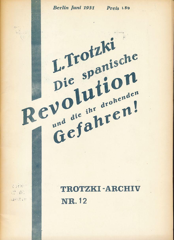 Die Spanische Revolution Gebraucht Zvab