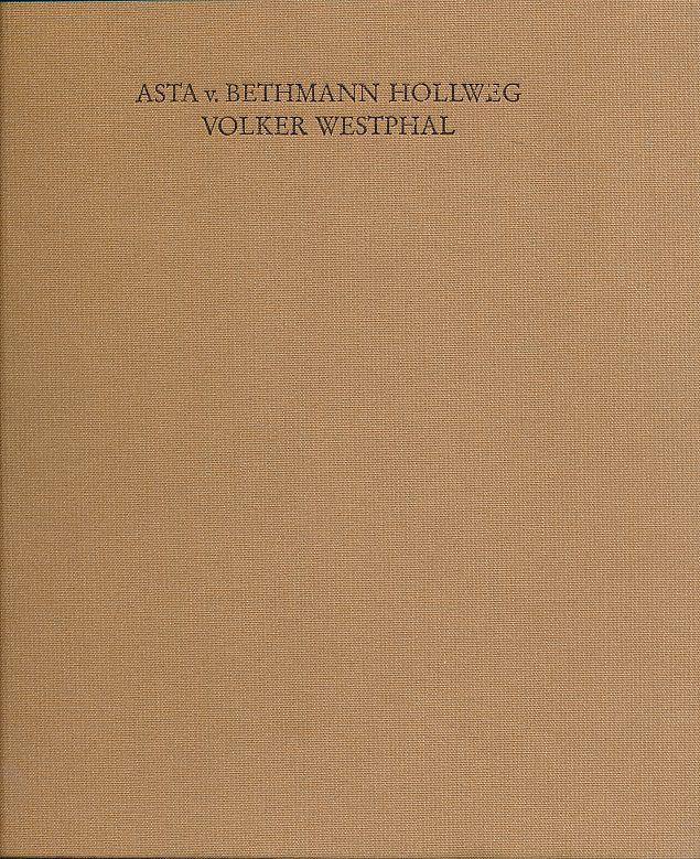 25 Jahre Kunsthandel in Berlin 1966-1991.: Bethmann Hollweg, Asta
