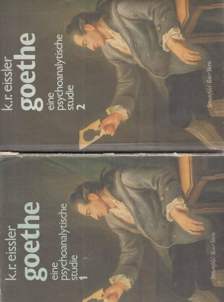 2 BÄNDE) Goethe. Eine psychoanalytische Studie. Von: Goethe, Johann Wolfgang:
