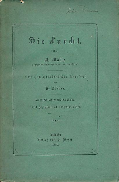 Die Furcht.: Mosso, Angelo: