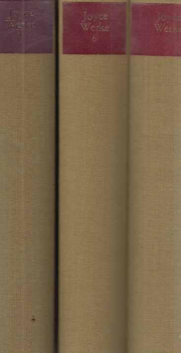 3 BÄNDE) Briefe. I - III. (1900-1941): Joyce, James: