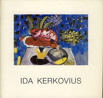 Ida Kerkovius. Ölbilder, Pastelle, Aquarelle, Zeichnungen, Glasfenster und Webarbeiten Ausstellungskatalog Kunstkabinett Hanna Bekker vom Rath, 18.10.-20.12.1990 - Kerkovius, Ida