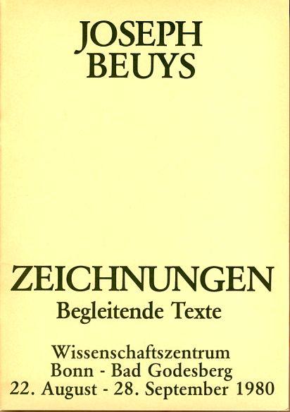 Joseph Beuys. Zeichnungen. Begleitende Texte. Wissenschaftszentrum, Bonn: Beuys, Joseph: