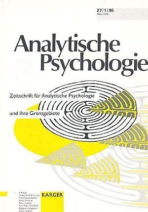 Analytische Psychologie. 27. Jahrgang Hefte 1-4. 1996.