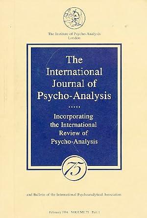 The International Journal of Psycho-Analysis. Hamburg Congress: Tuckett, David (Ed.):