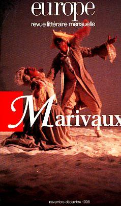 Marivaux. europe: revue litteraire mensuelle. nr. 811-812.