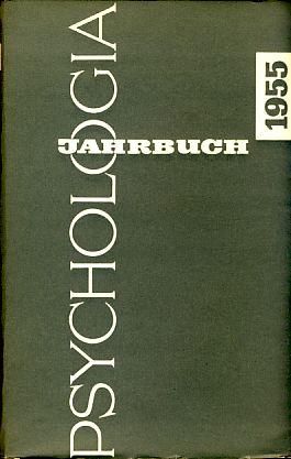 Psychologia-Jahrbuch 1955.: Canziani, Willy (Hrsg.):