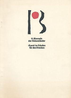 11. Biennale der Ostseeländer. Internationale Kunstausstellung mit: Jastram, Jo: