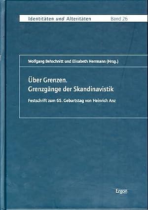 Über Grenzen. Grenzgänge der Skandinavistik. Festschrift zum: Behschnitt, Wolfgang und