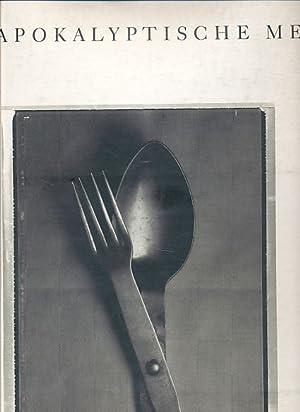 Das apokalyptische Menu. Texte Alfons Schuhbeck, Gerd Schuster. Gestaltung Peter Schmidt und Thomas...