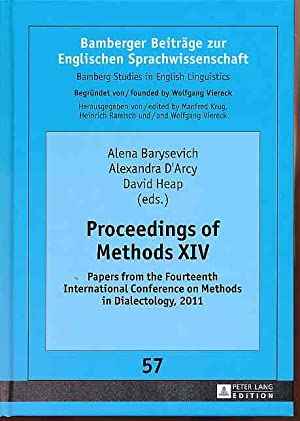 Proceedings of methods XIV. Papers from the: Barysevich, Alena, David