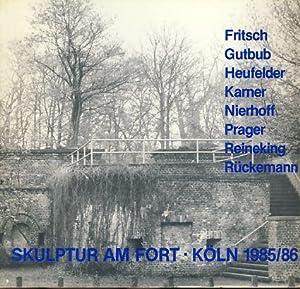 Skulptur am Fort. Köln-Rodenkirchen Militärringstraße/Nähe Rheinufer. Eine