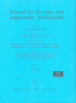Journal für die reine und angewandte Mathematik.: Cuntz, Joachim, Gerhard