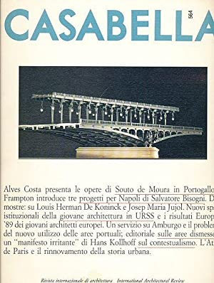 Casabella. 564. January / Gennaio 1990. International Architectural Review. Anno LIV.: ...