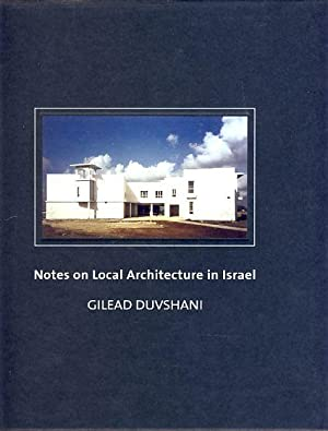 Notes on local architecture in Israel. Transl.: Duvshani, Gilead: