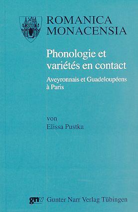 Phonologie et variétés en contact : Aveyronnais: Pustka, Elissa: