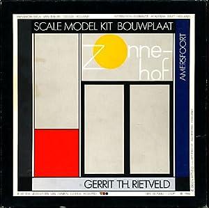 Zonnehof. Amersfoort. Scal Model Kit Bouwplaat. Scale 1:100.: Rietveld, Gerrit: