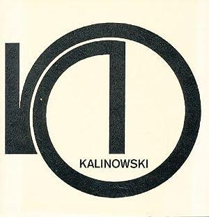 Horst Egon Kalinowski, Objekte 1975 - 80.: Kalinowski, Horst Egon: