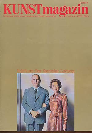 Kunstmagazin 17. Jg., Nr. 4, 1977.: Baier, Hans Alexander