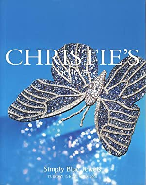 Christie's Geneva. Simply Blue Jewels. Tuesday 13 November 2001.