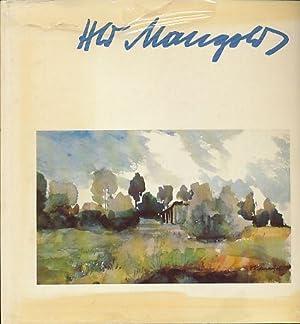 Heinrich Wilhelm Mangold. Monographie. Vorwort Gerhard Olschowy.: Mangold, Heinrich Wilhelm: