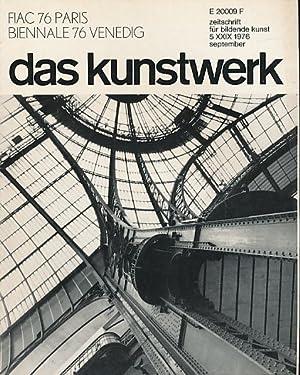 Das Kunstwerk. zeitschrift für bildende kunst. Jg.: Fischer, Klaus-Jürgen und
