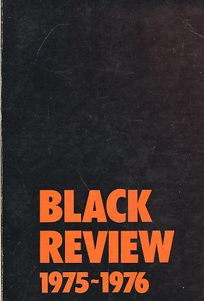 Black Review. 1975-1976.