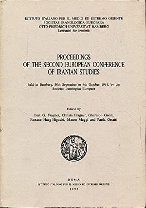 Proceedings of the second European conference of: Fragner, Bert G.,