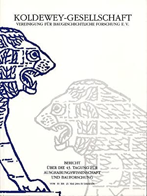 Bericht über die 42. Tagung für Ausgrabungswissenschaft: Tragbar, Klaus (Red.):