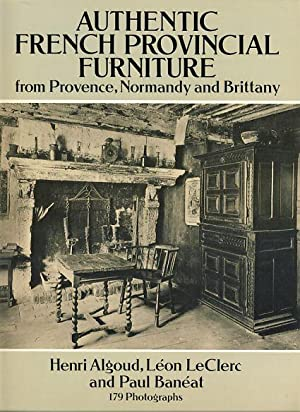 Authentic French provincial furniture from Provence, Normandy and Brittany.