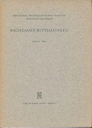 Baghdader Mitteilungen Band 3, 1964. Deutsches Archäologisches