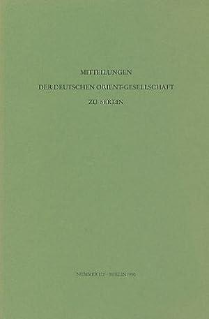 Mitteilungen der Deutschen Orient Gesellschaft zu Berlin