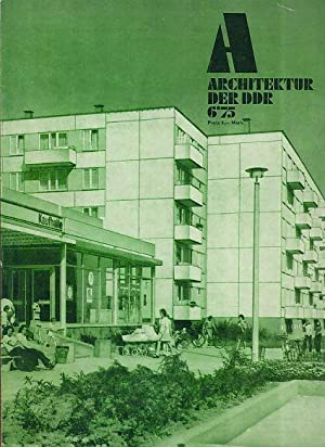 Architektur der DDR. 24. Jg. 6/1975.: Krenz, Gerhard (Red.):