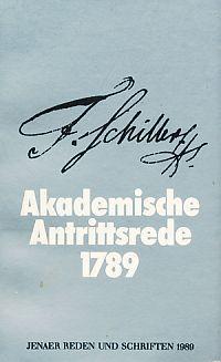 Was heißt und zu welchem Ende studiert: Schiller, Friedrich: