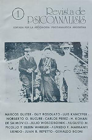 Nr. 1. 1986. Revista de Psicoanalisis.