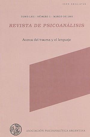 Acerca del trauma y el lenguaje. Nr.