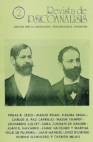 Nr. 2. 1986. Revista de Psicoanalisis.