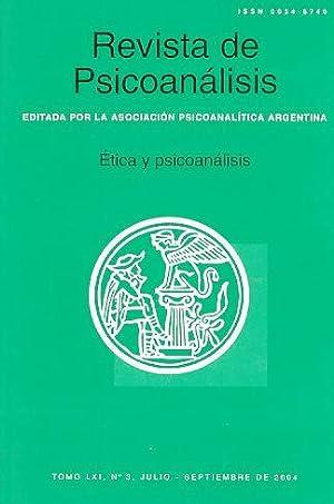 Etica y psicoanalisis. Nr. 3. 2004. Revista