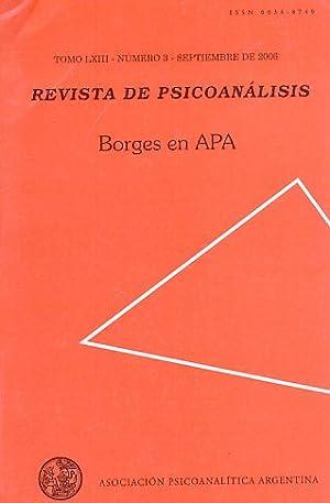 Nr. 3. 2006. Revista de Psicoanalisis.