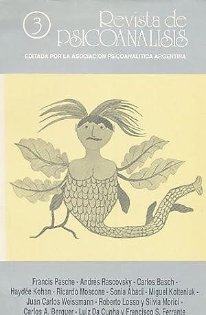Nr. 3. 1988. Revista de Psicoanalisis.