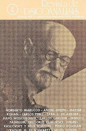 Nr. 4. 1986. Revista de Psicoanalisis.