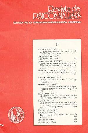 Nr. 1. 1989. Revista de Psicoanalisis.
