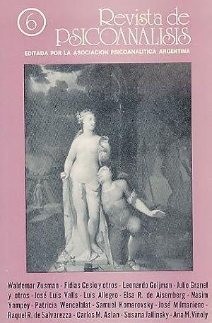 Nr. 6. 1988. Revista de Psicoanalisis.